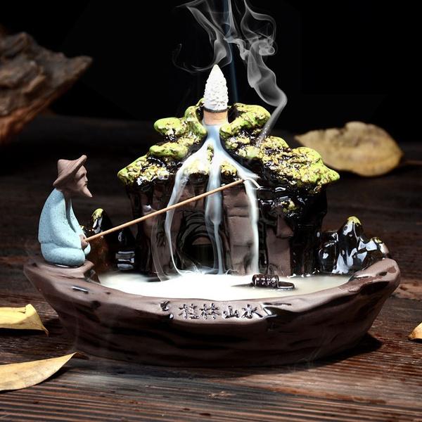 burnerholder, Decor, buddhist, Home Decor