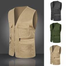 Vest, fishingvest, Men's vest, Photography
