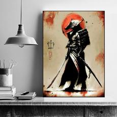 japanesehomedecor, art, Home Decor, Samurai