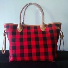 Fashion, Totes, Tote Bag, buffaloplaidbag