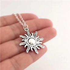 silversunnecklace, Jewelry, friendbirthday, summernecklace