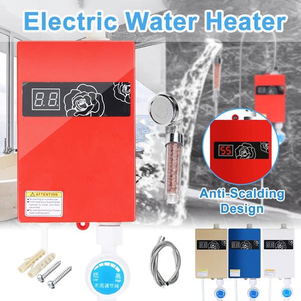 watersystem, Head, Bathroom Accessories, showerheater