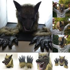 scary, wolfheadmask, Cosplay, Animal