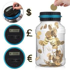 Box, coincounter, piggybank, coinbox
