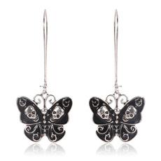 butterfly, Goth, Fashion, Jewelry
