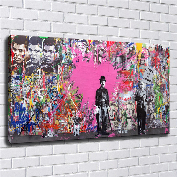 canvasprint, Wall Art, Home Decor, loveistheanswer