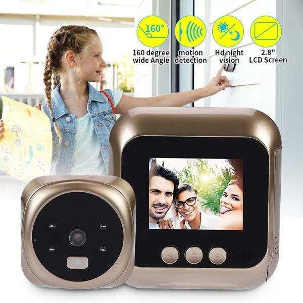 Home & Kitchen, dooreyehole, peepholedoorbell, monitoring