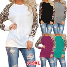 blouse, Plus Size, loose top, leopard print