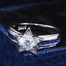 Star, wedding ring, giftring, fashion ring