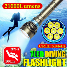 Flashlight, underwater, divelamp, ultrabright
