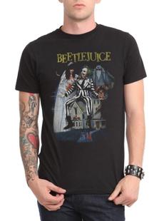 Mens T Shirt, beetlejuicepostertshirt, menssummertshirt, menshortsleevetshirt