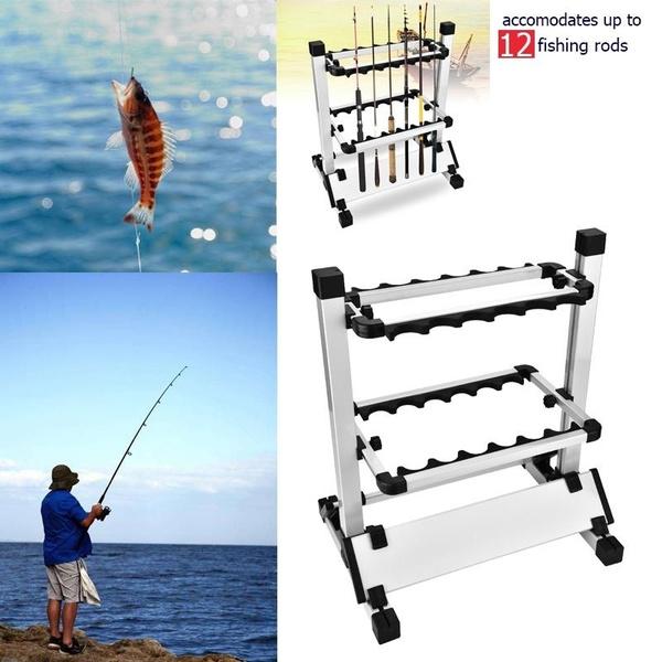 fishingpolerack, fishingrodholder, fishingrodsstand, Storage