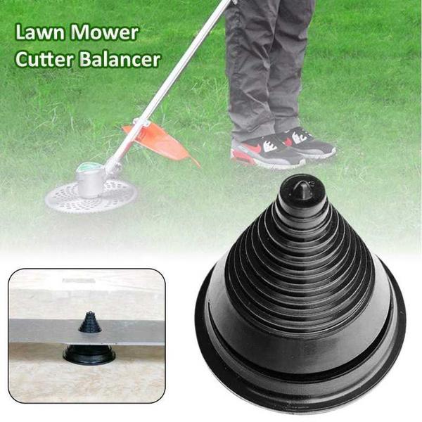 Rotary Lawn Mower Brushcutter Blade Balancer For Sharpening Balancing Blades