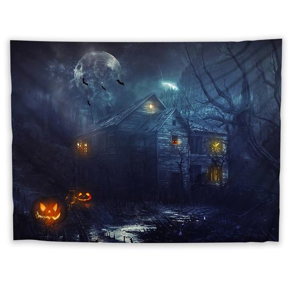 tablecolth, Home Decor, Blanket, Halloween