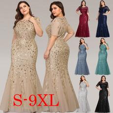 Plus Size, Evening Dress, Dress, Wedding