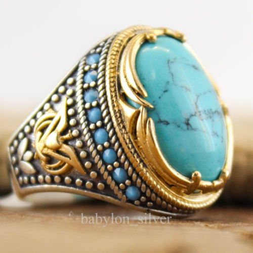 Sterling, Turquoise, Fashion, gold