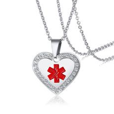 Steel, Heart, Stainless Steel, Jewelry