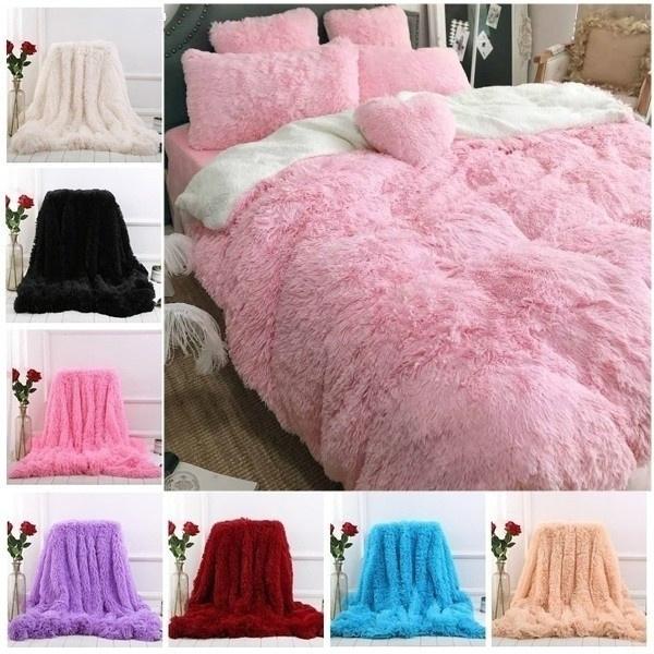 pink, fur, blanketsforbed, plushblanket