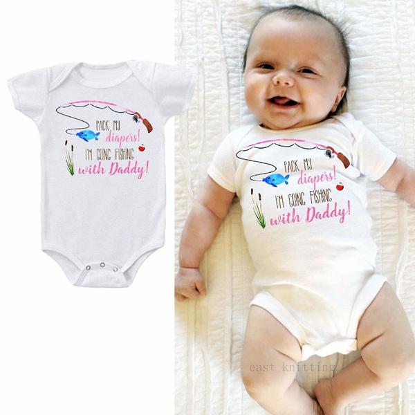 cuterompersandjumpsuit, Sleepwear, babyromper, letter print
