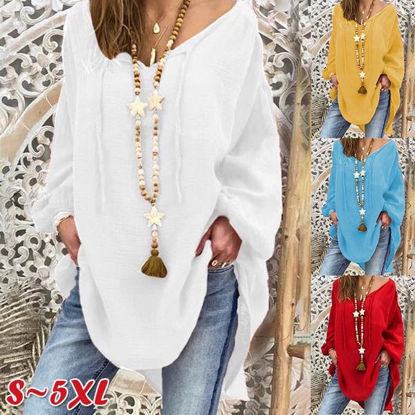 blouse, Plus Size, Sleeve, Long Sleeve
