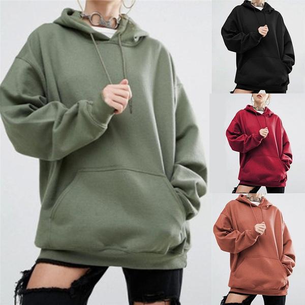 hooded sweater, Ladies Fashion, black hoodie, Long Sleeve
