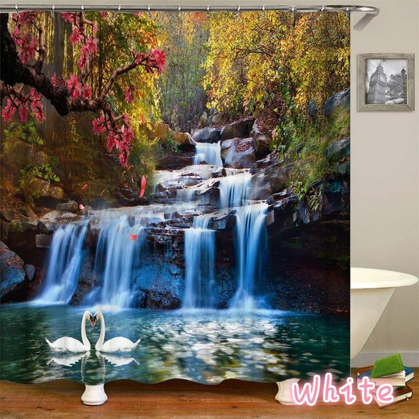 scenery, water, Bathroom, Nature