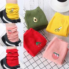 Kawaii, cute, Cotton Socks, peach