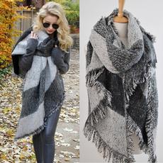 woolen, Scarves, Fashion, Necks