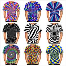 Summer, Short Sleeve T-Shirt, hypnotictshirt, 3dprintedtshirt