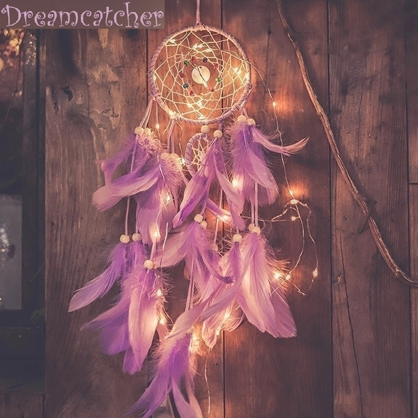 dreamcatcherpendant, decorationpendant, Night Light, Jewelry