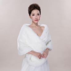 Bridal, Winter, cape, Long Sleeve