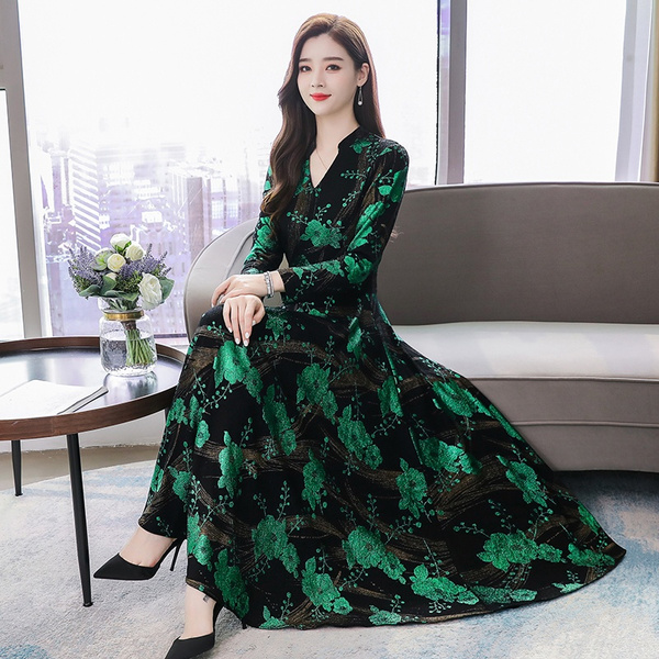 Plus Size, long sleeve dress, long dress, plus size dress