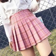Skirts, cute, sweetpleatedskirt, pleatedskirtwomen