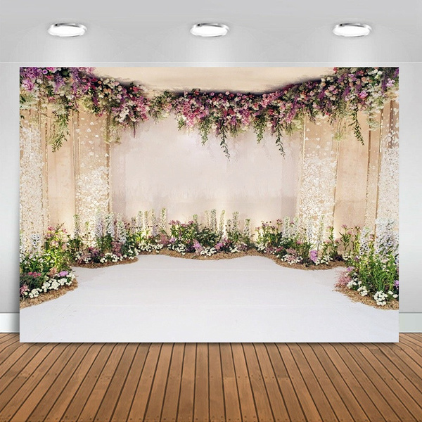 photography backdrops, Decor, Flowers, flowerswallscene
