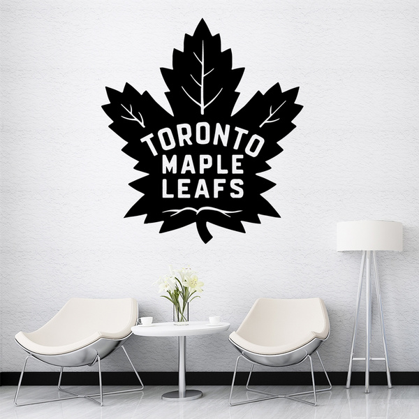 Beauty Toronto Maple Leafs Theme Wall Sticker Self Adhesive Vinyl Waterproof Wall Art Decal For Children S Room Removable Decor Wall Decals Wish
