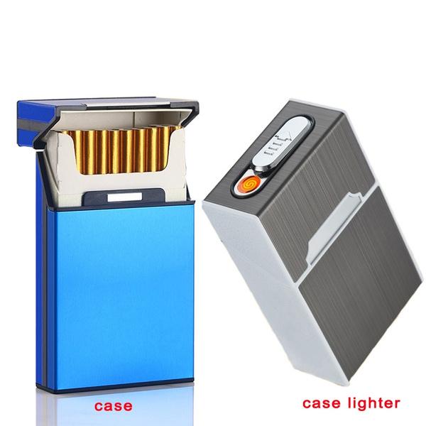 Box, case, cigaretteboxlighter, 20cigarettecase