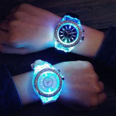 LED Watch, genevawatch, Fashion, led