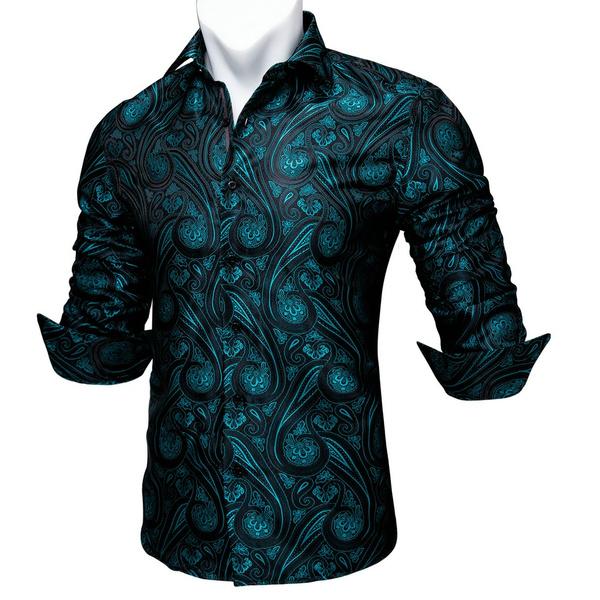 paisley, Fashion, Shirt, fashion Mens Shirts