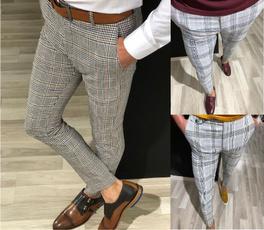 plaid, formalpant, Casual pants, Classics