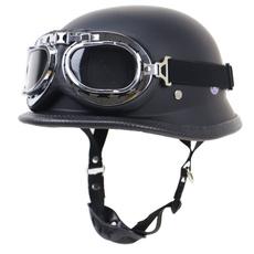 Helmet, Goggles, germanhalfhelmet, motorcycle helmet