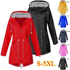 womenwindbreaker, Casual Jackets, waterproofcoat, Fashion