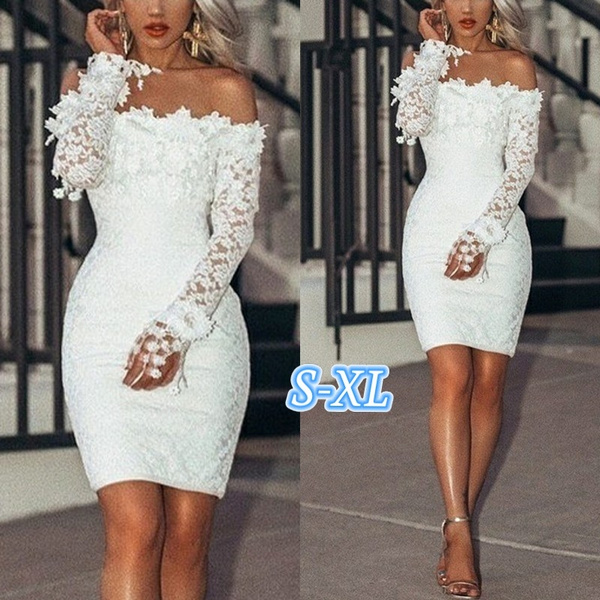 Mini, Fashion, Lace, gowns