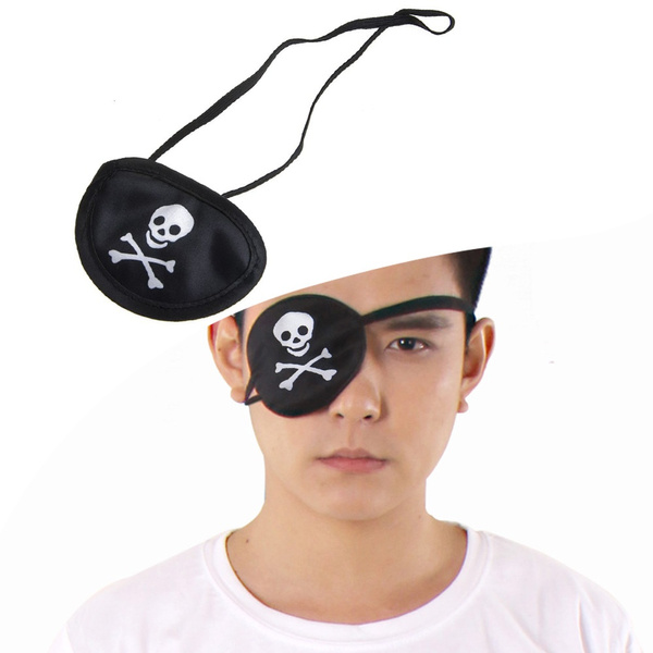 Eyepatch, Cosplay, halloweenparty, skull