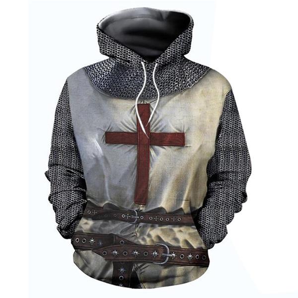 3D hoodies, halloween hoody, Fashion, Cosplay