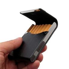 Box, case, tobacco, leather