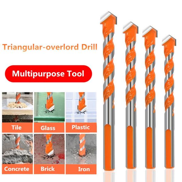 highspeedsteeldrillbit, trianglehandle, Glass, Tool