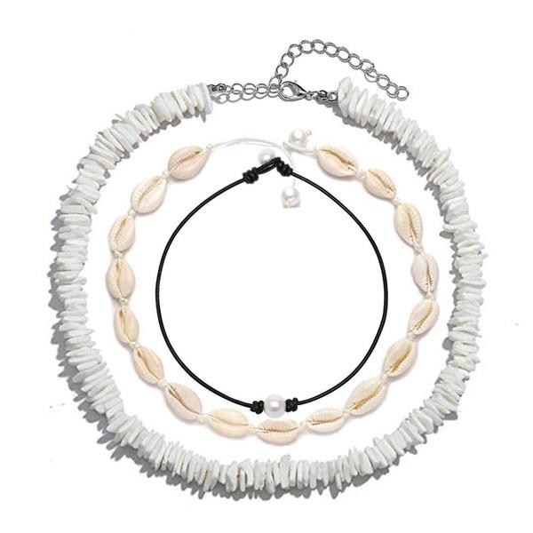 shells, Choker, Jewelry, Hawaiian