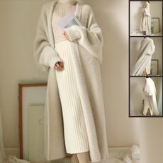 knitted, Style, cardigan, velvet