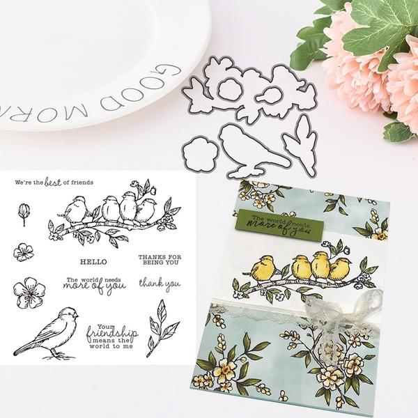 cuttingdiesandstamp, Flowers, embossingfolder, embossingfolderdie