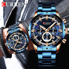 Luxury Watch, Chronograph, Fashion, Stainless Steel